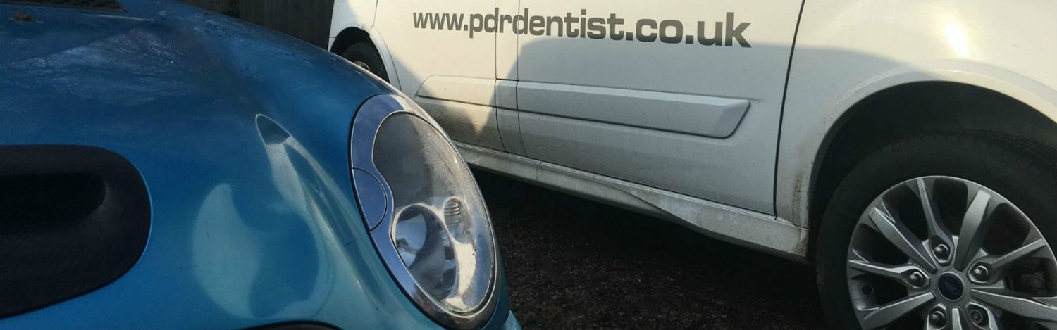 pdr services working on a Mini